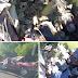 AY MÍ MADRE!! Una patana cae desde un puente tras un accidente de tránsito en Bonao