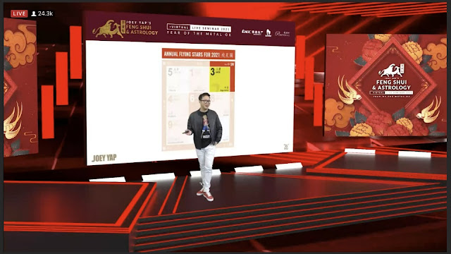 Largest Annual Feng Shui & Astrology Livestream, Joey Yap, 021 Feng Shui & Astrology Virtual Seminar, Feng Shui, Lifestyle