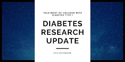 new treatment of children with diabetes type 1