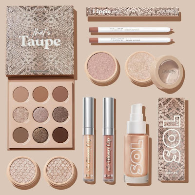Colourpop Taupe Collection