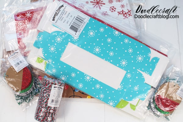 The gift tags and twine are perfect for other holiday gift giving too. I love that the boxes are festive and fun, but not overly Christmasy. The snowflake boxes are perfect for all Winter long.  ***Head to Oriental Trading right now and get a head start on the holidays! All the major shippers are expecting massive delays closer to Christmas, check out this article here. So ordering as soon as possible is the best way to ensure you get what you want in time.  Select Holiday products are up to 50% off. Plus, get FREE SHIPPING on ANY size order with code: PUMPKIN20