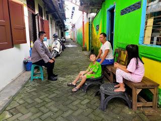 Wujudkan Polri Presisi, Satbinmas Polres Pelabuhan Makassar Tingkatkan Binluh