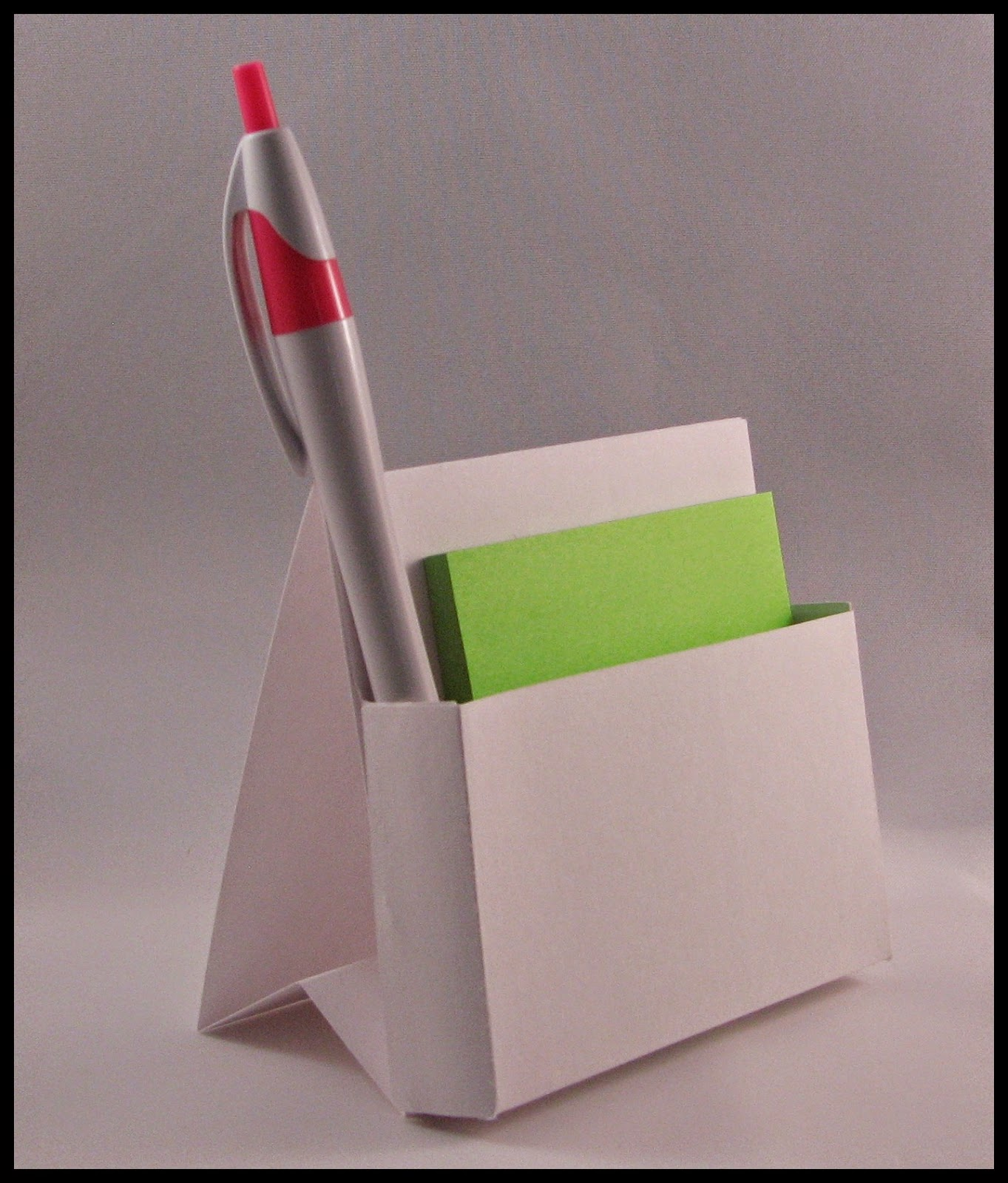 Around the Block with scrapalette: Easel Back Post It Note ...