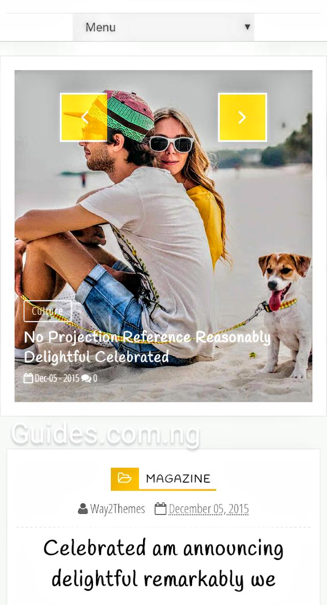 Modern Responsive Travel Magazine Blogger Theme