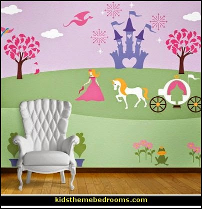 Princess style bedrooms - castle theme beds - Pumpkin Bed - fairy princess theme bedroom ideas - Princess bed - Disney Princess Furniture - Cinderella Wall Decals - Cinderella Carriage Bed - Castle Theme Beds - Princess Carriage Twin Bed - princess theme baby nursery decorating ideas - Princess bedroom furniture