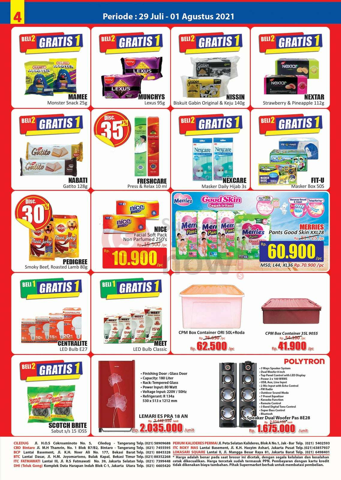 Katalog Promo JSM Hari Hari Swalayan Weekend 29 Juli - 1 Agustus 2021 4