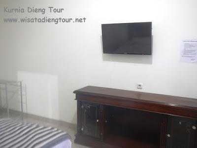 fasilitas kamar hotel sentro kota wonosobo