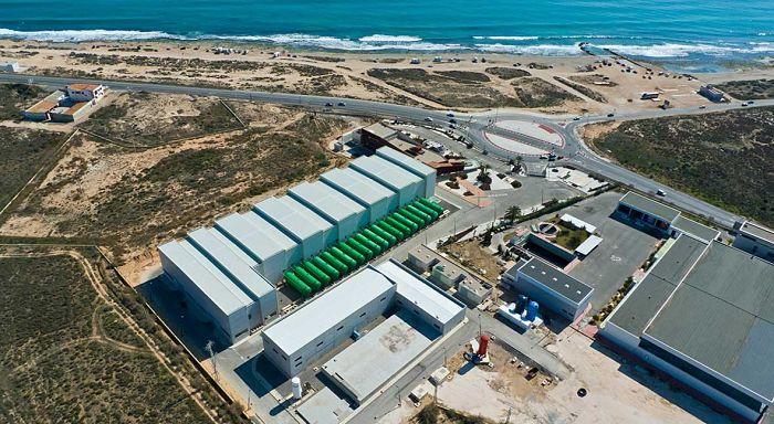 Planta desalinizadora de agua de mar