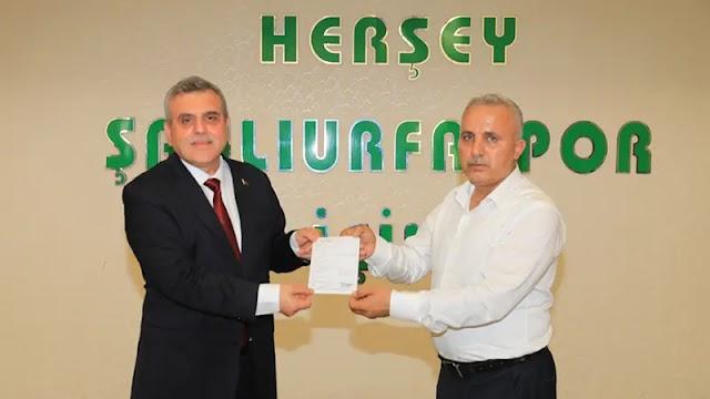 Beyazgül'den Urfaspor'a maddi destek