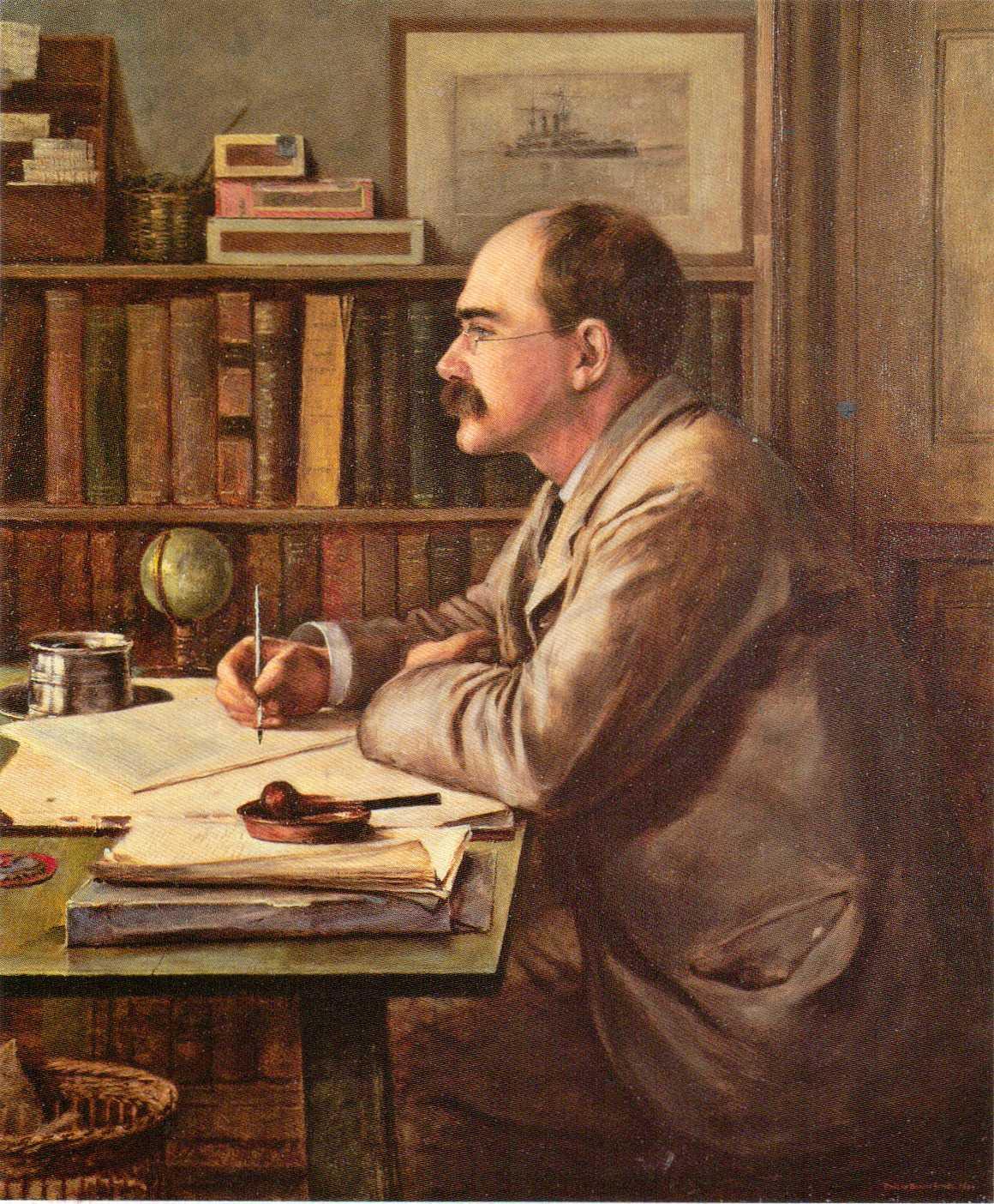 Image result for rudyard kipling painting
