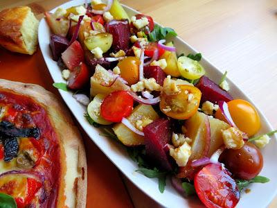 Heirloom Tomato & Beetroot Salad