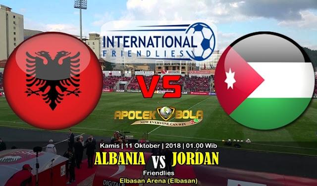 Prediksi Albania Vs Jordan 11 Oktober 2018