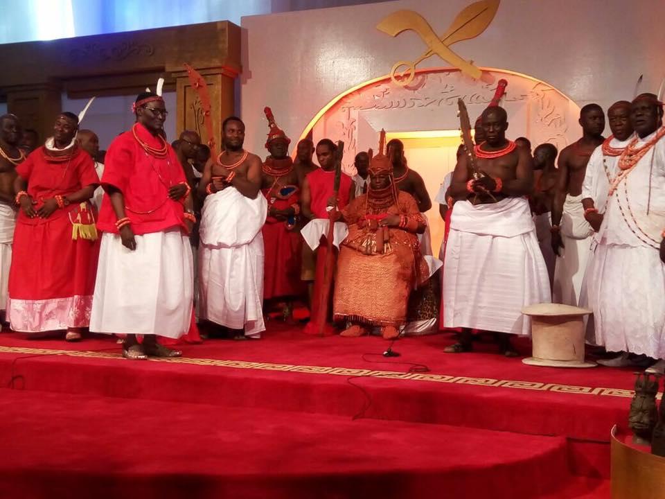 MEET THE NEW KING OF BENIN KINGDOM, EDO STATE NIGERIA