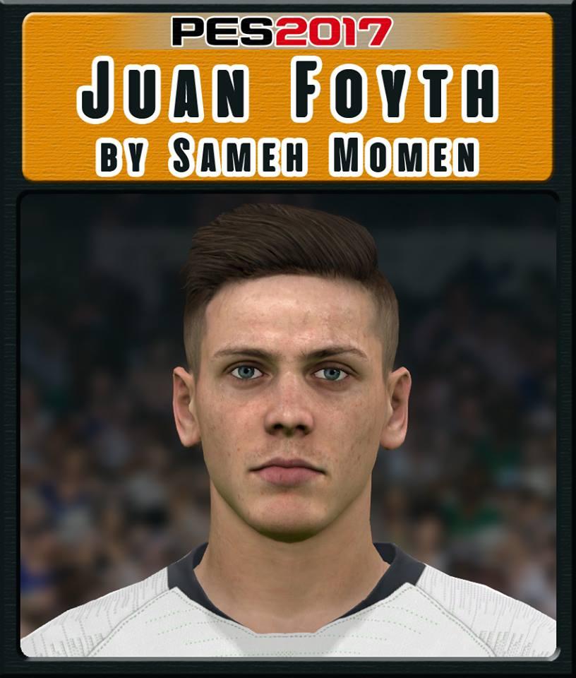 PES 2017 J. Foyth face by Sameh Momen