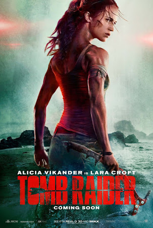 Watch Online Tomb Raider 2018 720P HD x264 Free Download Via High Speed One Click Direct Single Links At WorldFree4u.Com