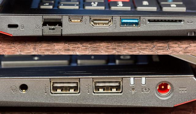 Acer Predator Helios 300 conexões