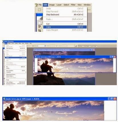 Tutorial Membuat Banner Blog Menggunakan Photoshop
