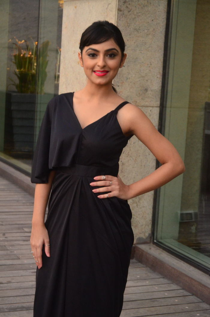 Pooja K Dhoshi At Kaadali Movie Audio Launch Gallery