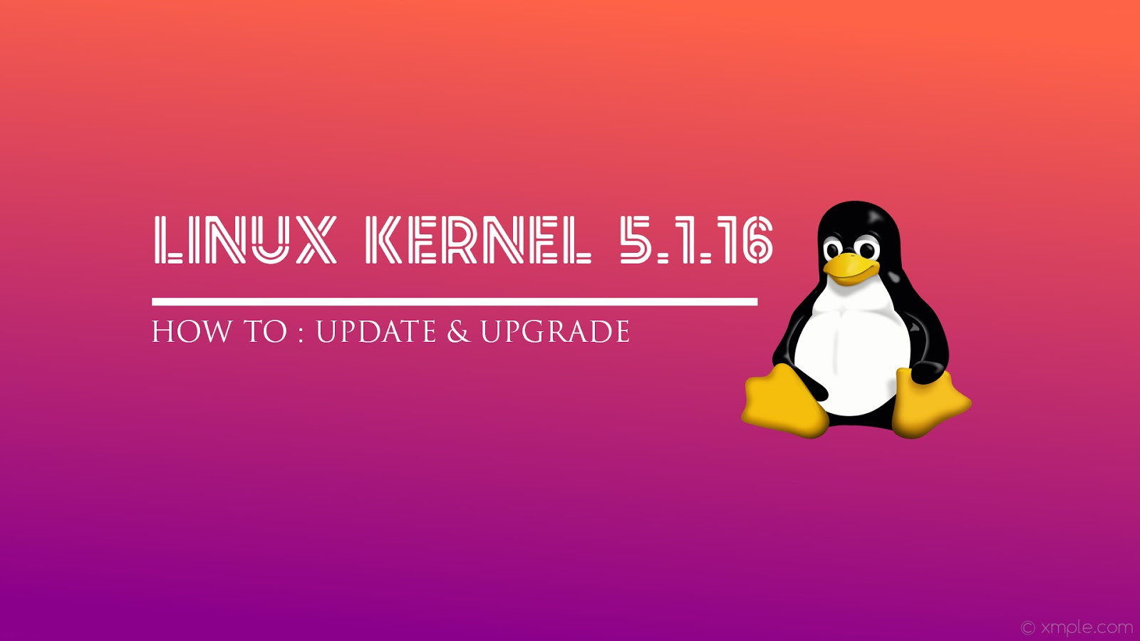 How to install Linux Kernel 5 1 16 stable on Ubuntu and