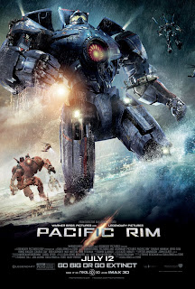 Pacific Rim, movie, poster, Guillermo del Toro, kaiju, jaeger