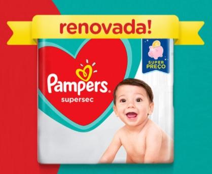Promoção Pampers Renovada Dinheiro de Volta #ConfiaQueNaoVaza