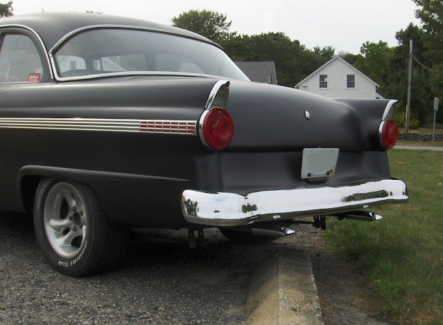 Ford 1956 rear view