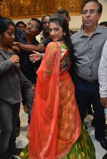 Shriya Sharma Stills At Kalamandir 25 Store Launch 1.jpg