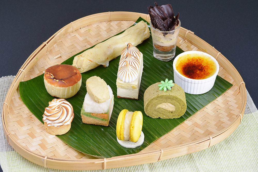 the durian room & durian dessert platter, corus hotel kuala lumpur
