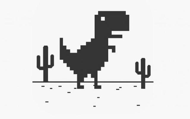 Google encontra uma nova utilidade para o dinossauro do Chrome