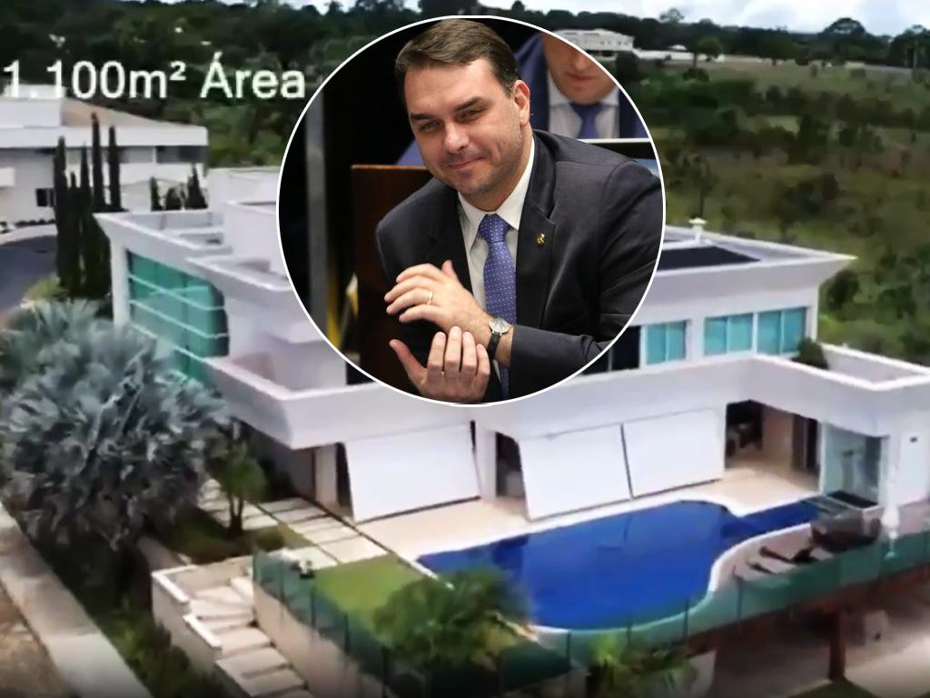 Vídeo mostra a mansão de R$ 6 milhões comprada por Flávio Bolsonaro em Brasília