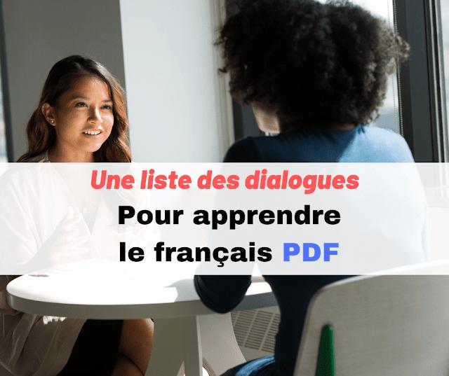 une liste des dialogues