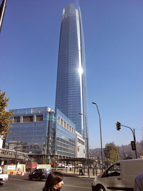 Rascacielos, Santiago, Chile