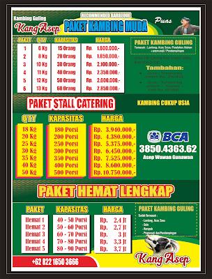 Paket Catering Kambing Guling Lembang  082216503666,kambing guling lembang,