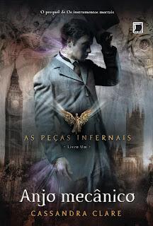 News: Capa de Clockwork Princess, da autora Cassandra Clare. 9