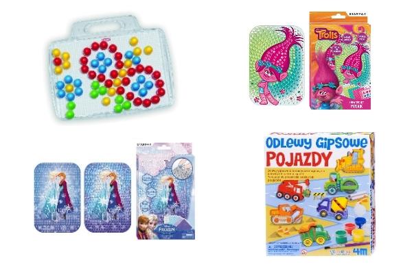 prezenty dla przedszkolaka do 100zł ze smyka mozaiki układanki