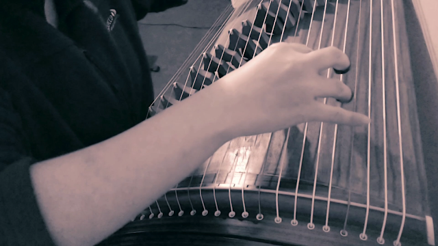 """Chinese Folk Song """"My Motherland and Me"""" Guzheng (by SQLuna)"""
