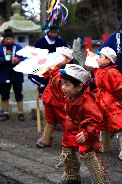 Momoishi Enburi (Dancing and praying), Oirase Town, Aomori Pref.