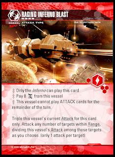Attack type: Raging Inferno Blast