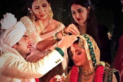 Diya-Mirza-Sahil-Sangha-wedding