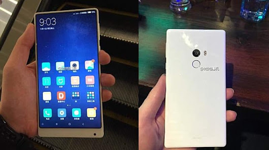 Xiaomi Mi Mix मे Android 7.0 Nougat Update And Going To Launch New White Variant - Android Hindi
