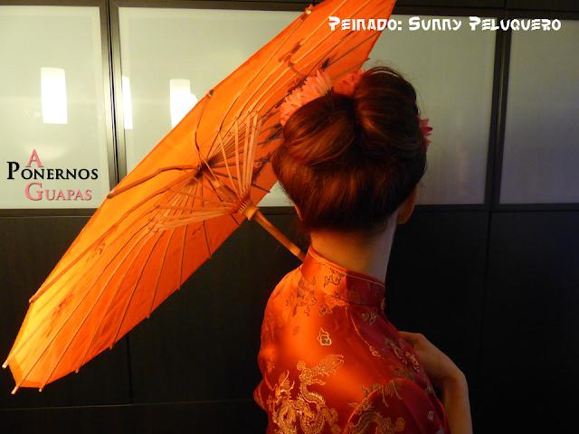 Peinado de geisha Carnaval A Ponernos Guapas