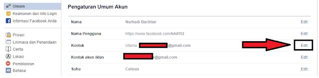 Cara Paling Mudah Mengganti Email FB di HP dan PC