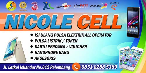 Contoh Banner Jual Pulsa All Operator