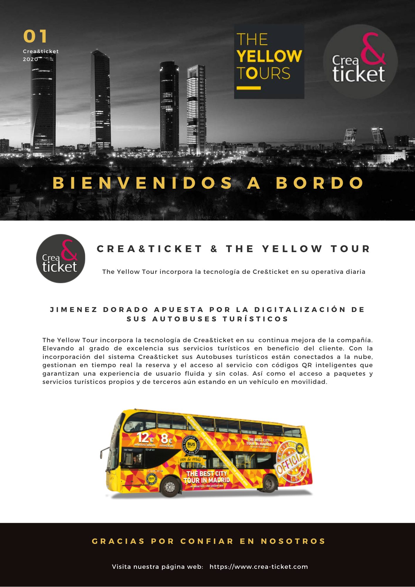 The Yellow Tours digitaliza sus servicios turísticos
