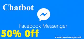 (Giảm 50%) - Khóa học Bán hàng và Chăm sóc khách hàng tự động với Chatbot Messenger