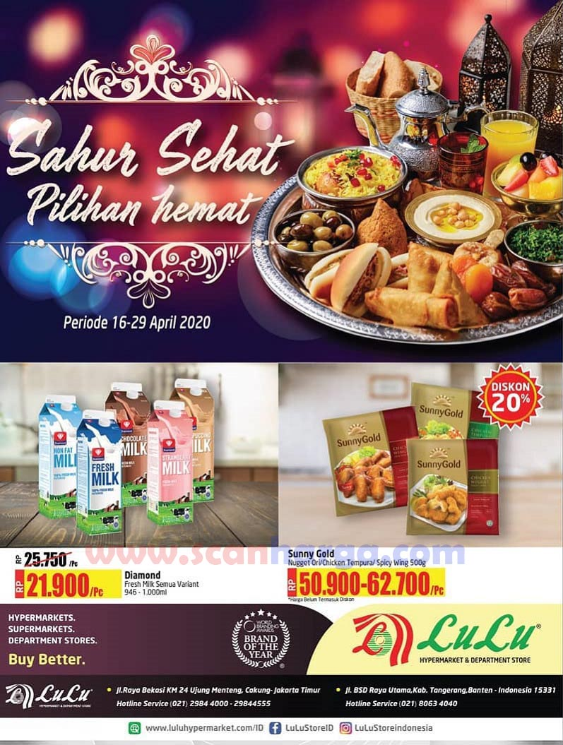 Promo LULU Supermarket Belanja Hemat Sahur Ramadhan 16