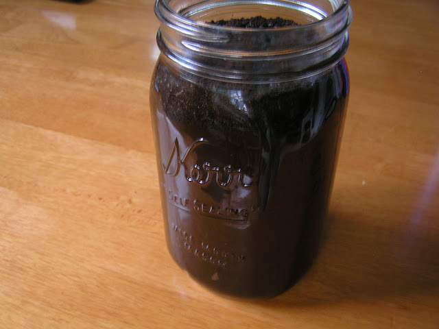 cold brewed coffee