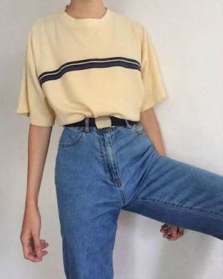 outfit juvenil retro sencillo