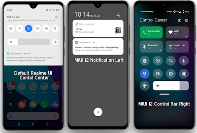 Preview Control Center MIUI 12 Apps