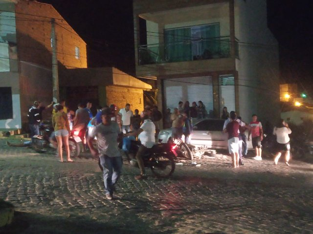 Acidente com motos deixa um morto e um gravemente ferido em Taquaritinga do Norte